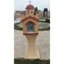 Τσιμεντένιο εκκλησάκι